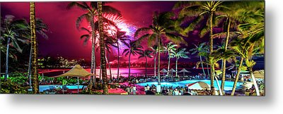 Turtle Bay - Independence Day Metal Print by Sean Davey