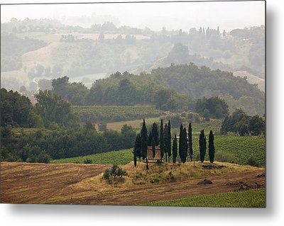 Metal Print featuring the photograph Tuscan Landscape by Stefan Nielsen