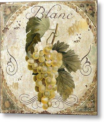 Tuscan Table Blanc Wine Metal Print