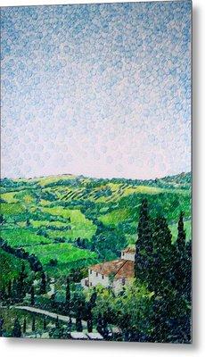 Tuscan View Metal Print by Jason Charles Allen