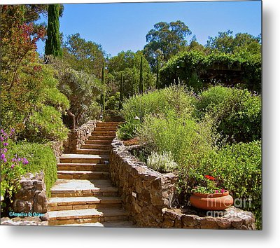Tuscan Villa In California Metal Print