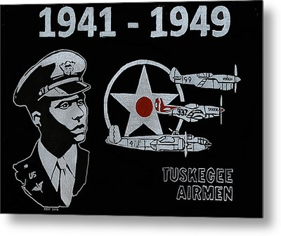 Tuskegee Airmen Metal Print by Jim Ross