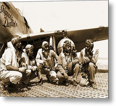 Tuskegee Airmen Metal Print by Pd