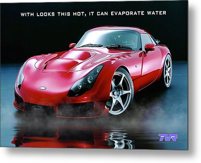 Tvr Evaporating Water Metal Print by ISAW Gallery