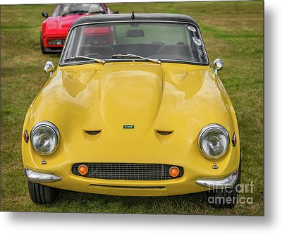 Metal Print featuring the photograph Tvr Vixen S2 1969 by Adrian Evans