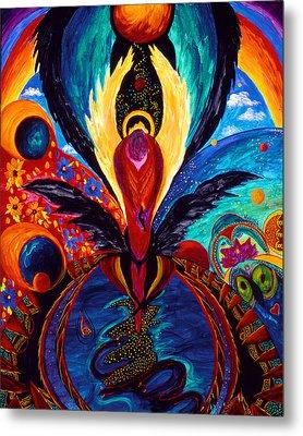 Captive Angel Metal Print by Marina Petro