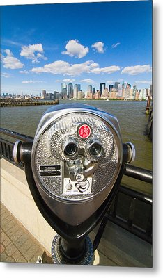 Twenty Five Cents View Metal Print by George Oze