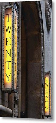 Twenty Twenty Metal Print by Robert Ullmann