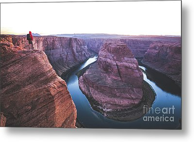 Twilight At Horseshoe Bend Metal Print by JR Photography