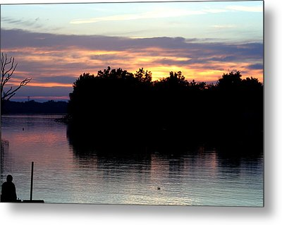 Twilight Delight Metal Print by Dave Clark