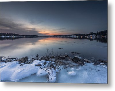 Metal Print featuring the photograph Twilight by Edward Kreis
