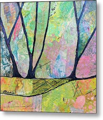 Twilight Iv Metal Print by Shadia Derbyshire