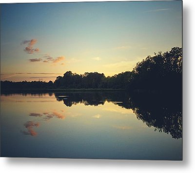 Metal Print featuring the photograph Twilight by Karen Stahlros