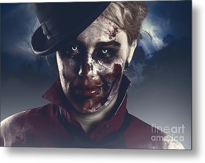 Twilight Nightmare. Possessed Halloween Girl Metal Print by Jorgo Photography - Wall Art Gallery