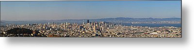 Twin Peaks City View Metal Print by Paul Owen
