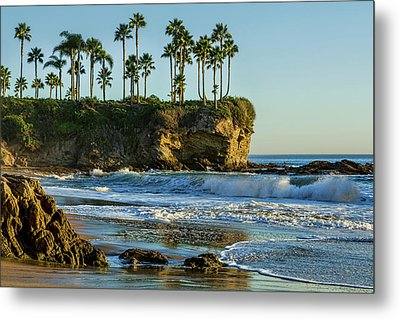 Twin Points Crescent Bay Metal Print