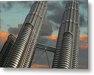 Twin Towers Metal Print by Debbie McIntyre