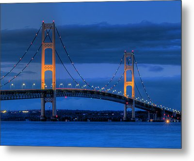 Twin Towers Of Northern Michigan Metal Print