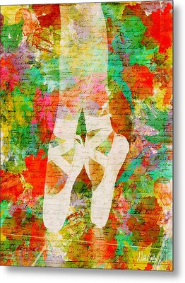 Twinkle Toes Metal Print by Nikki Marie Smith