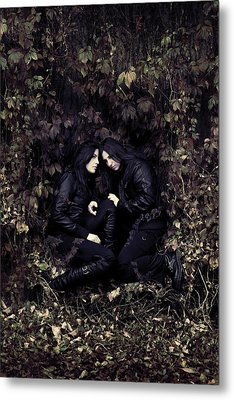 Twins Metal Print by Cambion Art