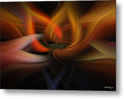 Metal Print featuring the photograph Twirl Abstract by Skip Tribby