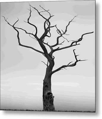 Twisted Metal Print by Mike McGlothlen