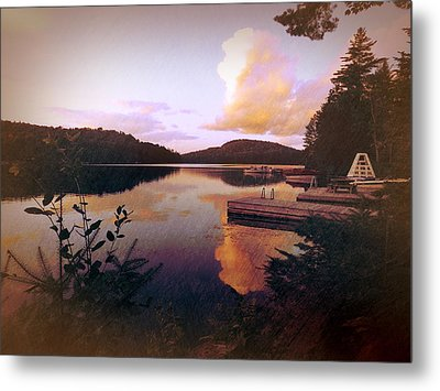 Twitchell At Sunset Metal Print