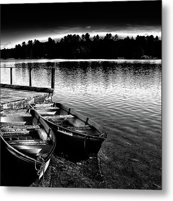 Metal Print featuring the photograph Two Boats by David Patterson