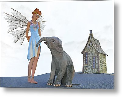 Two Friends Metal Print by Betsy Knapp