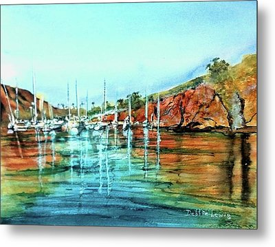 Two Harbors Catalina Morning Impressions Metal Print