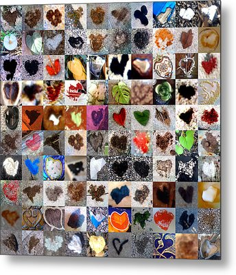 Two Hundred Series Metal Print by Boy Sees Hearts
