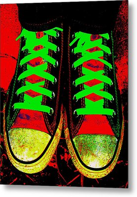Two Left Feet Metal Print by Ed Smith