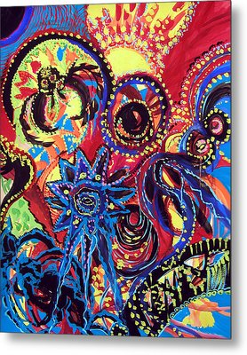 Elements Of Creation Metal Print by Marina Petro