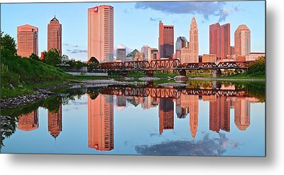 Metal Print featuring the photograph Two Of Everything by Frozen in Time Fine Art Photography