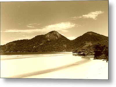 Two Rivers Beach Metal Print