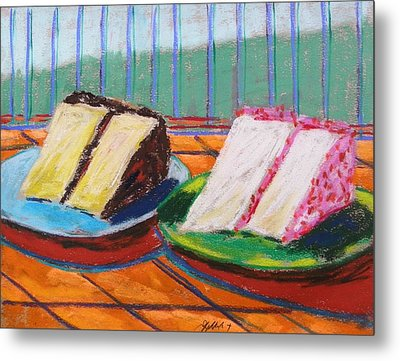 Two Slices Metal Print by John Williams