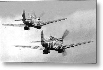 Two Spits Metal Print by Lyle Brown