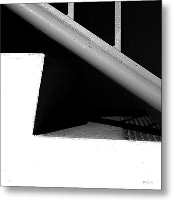 Two Steps Metal Print by Bob Orsillo