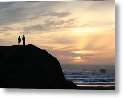 Two With A View Metal Print