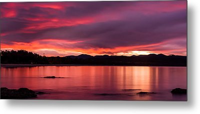 Twofold Bay Sunset Metal Print by Racheal  Christian