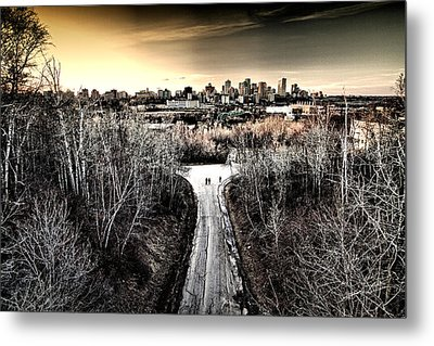 Two's Company Metal Print by Russell Styles
