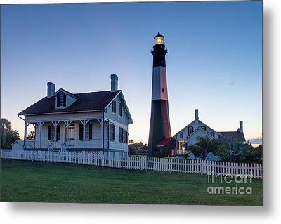 Tybee Island Lighthouse Metal Print by Patrick Shupert