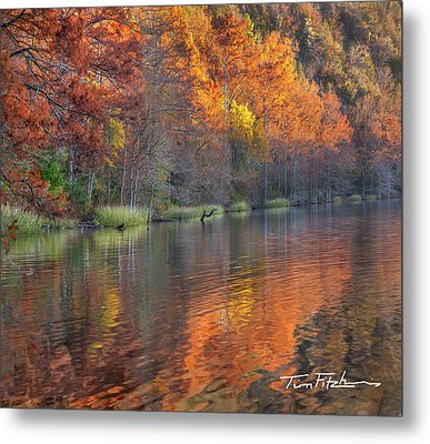 Tyler Lake Metal Print by Tim Fitzharris