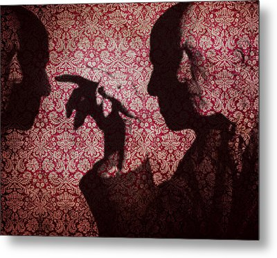 U N Me  Metal Print by Jerry Cordeiro