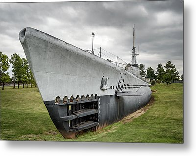 Metal Print featuring the photograph U. S. S. Batfish by James Barber