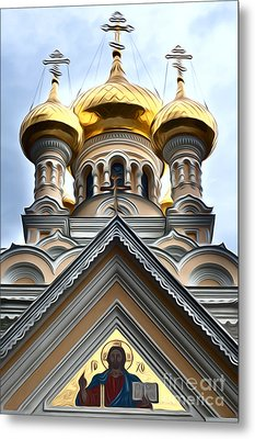 Ukrainian Church Metal Print