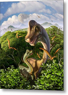 Ultrasaurus Metal Print by Jerry LoFaro