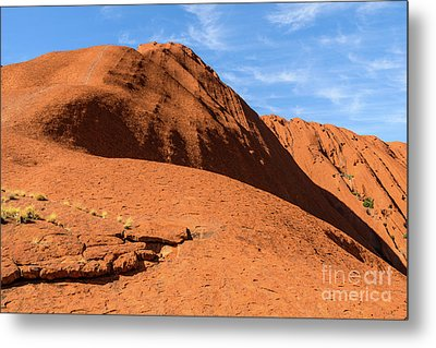 Metal Print featuring the photograph Uluru 04 by Werner Padarin