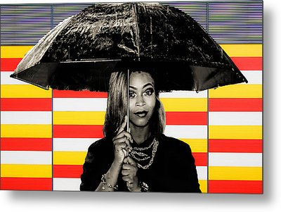 Umbrella  Metal Print by Britten Adams