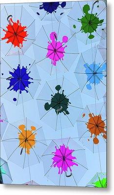 Umbrella Sky IIi Metal Print